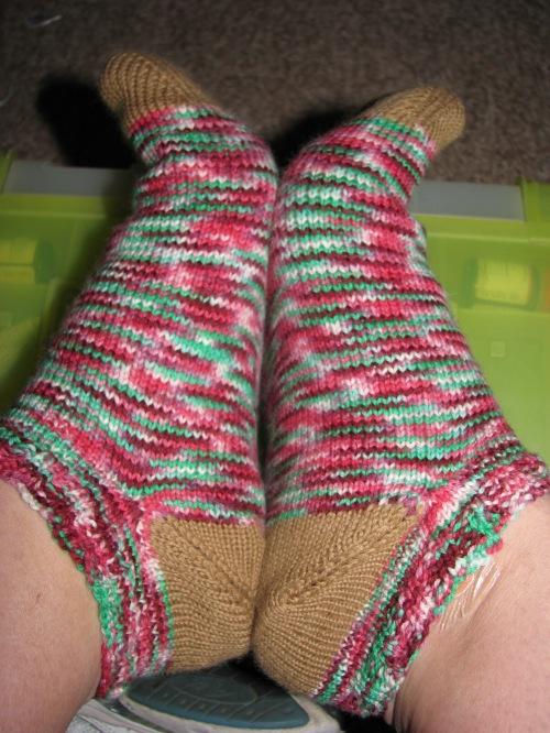 2009 socks, pair 2